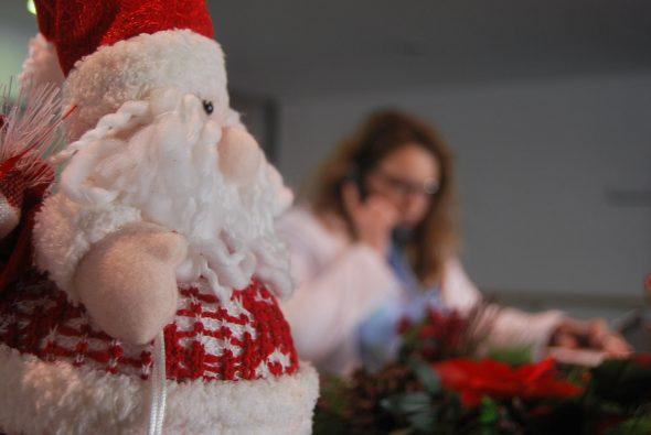 Decoración Navideña en el Hospital de Dénia