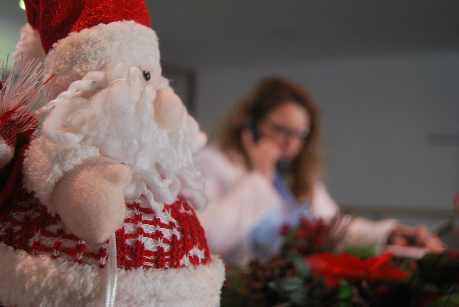 Decoració Nadalenca a l'Hospital de Dénia