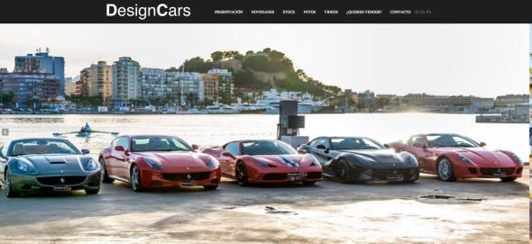 Cars Home Design your Website