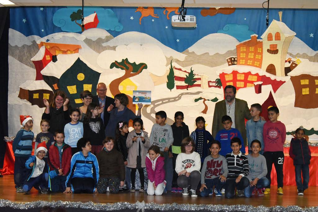 El Colegio Cervantes gana el primer premio de belenes