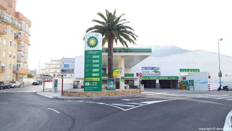 Gasolinera bp Dénia