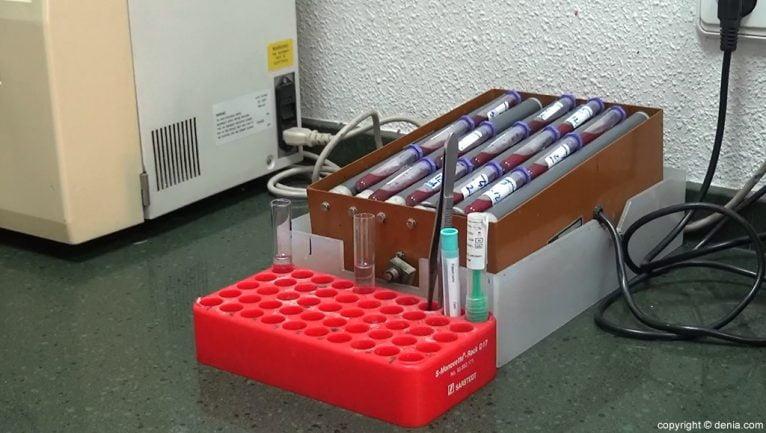 Laboratorios González análisis sangre
