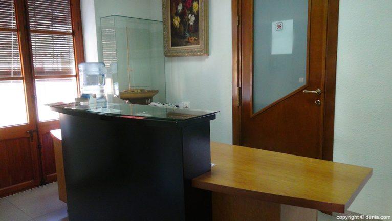 Laboratorios González recepción