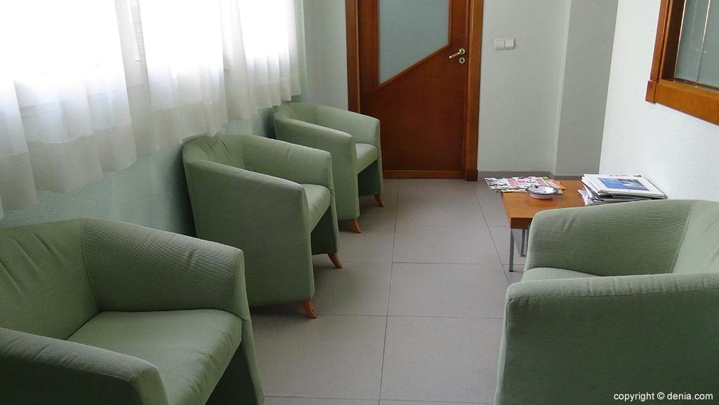 Laboratorios González sala de espera