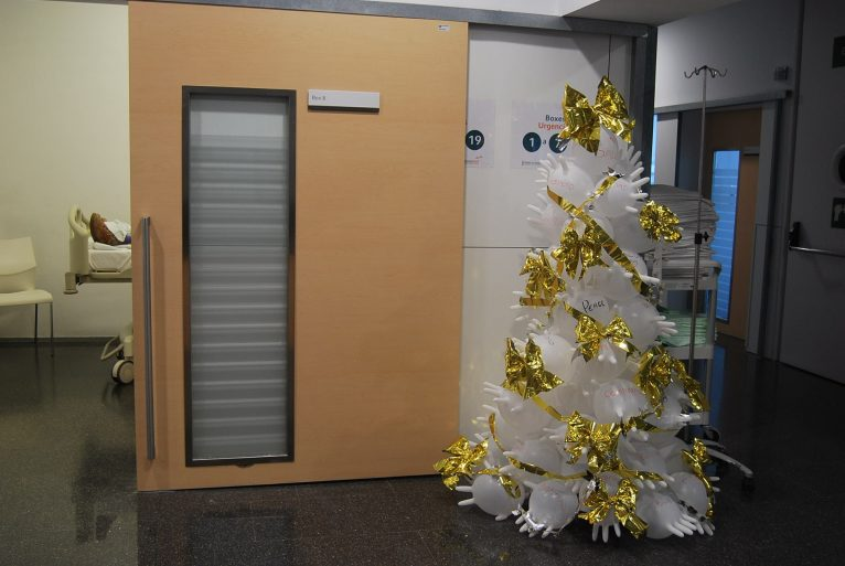 Nadal a l'Hospital de Dénia