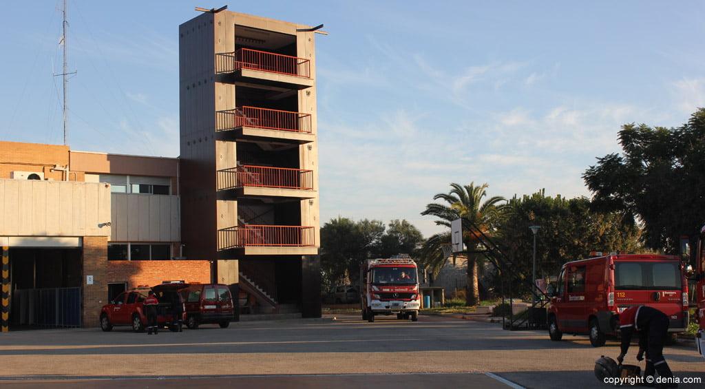 Parque Comarcal de Bomberos de la Marina Alta