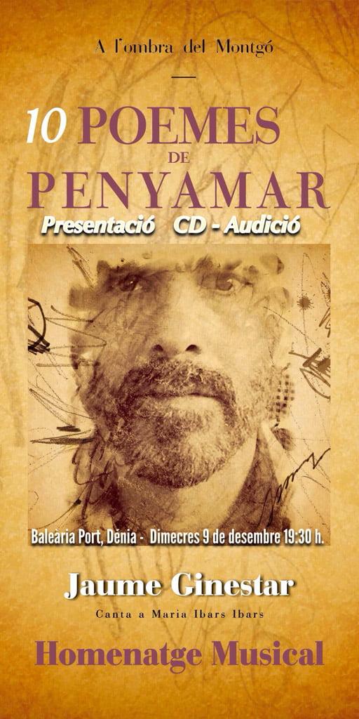 Presentation of CD 10 Poemes de Penyamar