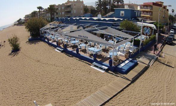 Restaurante Bona Platja Imagen desde el cielo