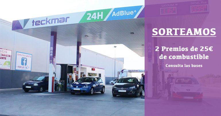 Gasolineras Teckmar sorteo combustible