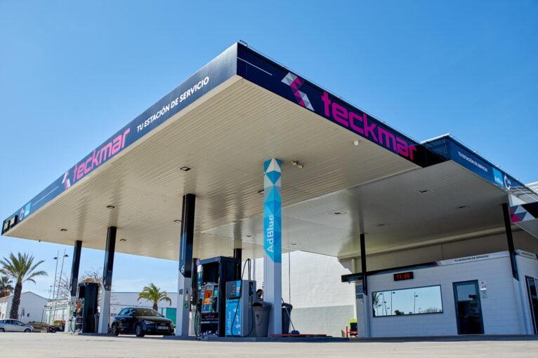 Vista general de Gasolineras Teckmar