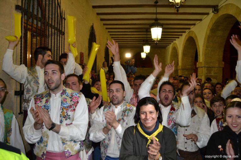 04 Premios fallas Dénia 2015 - Oeste celebra el primer premio de su sección