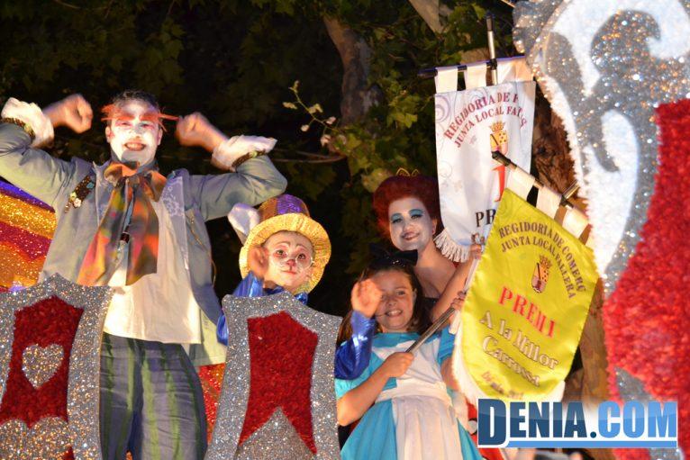 Carrozas de Dénia 2013 - Falla Oeste primer premio