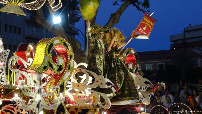 Carrozas Dénia 2015 - Primer premio Falla Oeste