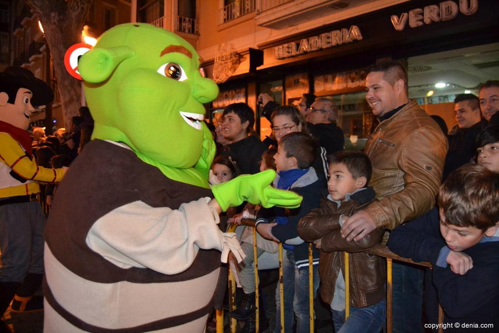 Cabalgata Reyes Magos 2015 – Shreck