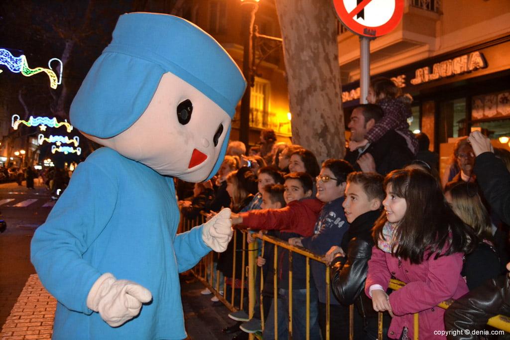 Cabalgata Reyes Magos 2015 – Pocoyo