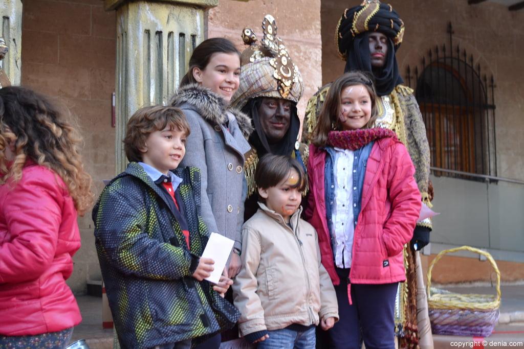 Visita de los Carteros Reales Dénia