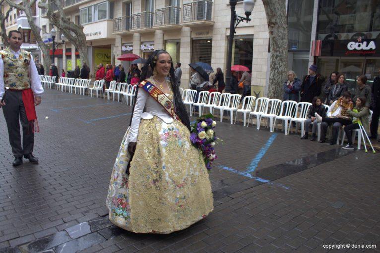 Ofrenda Flores Fallas Dénia 2015 - Falla Oeste
