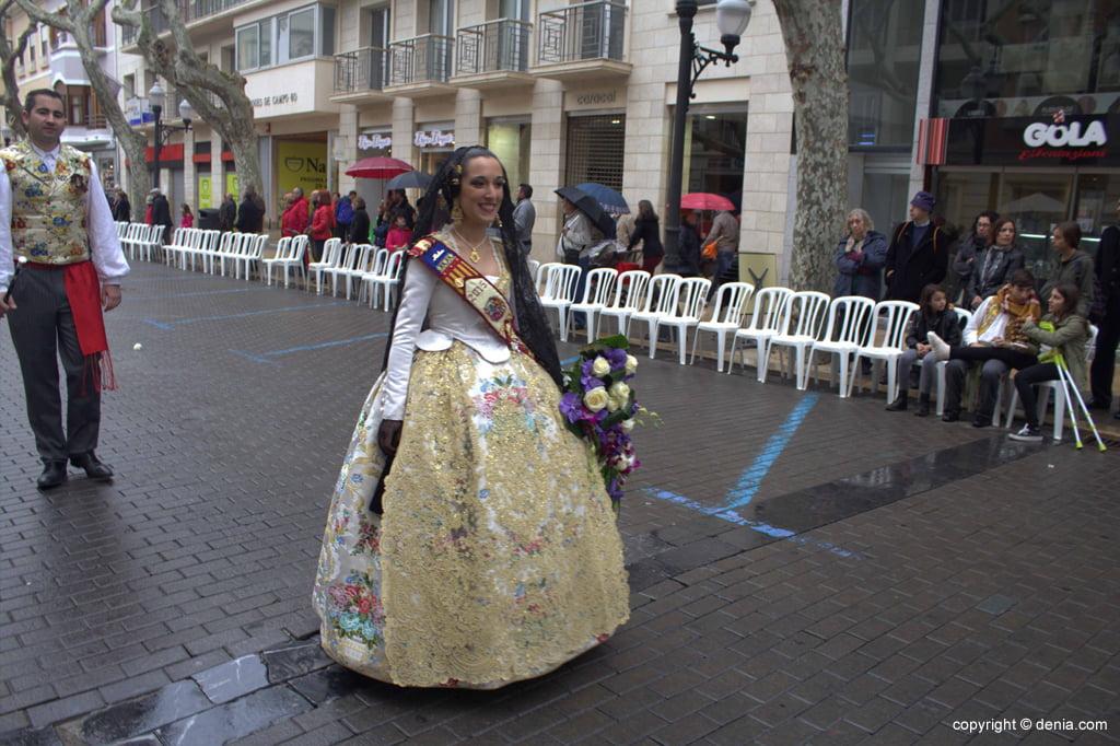 Ofrenda Flores Fallas Dénia 2015 – Falla Oeste