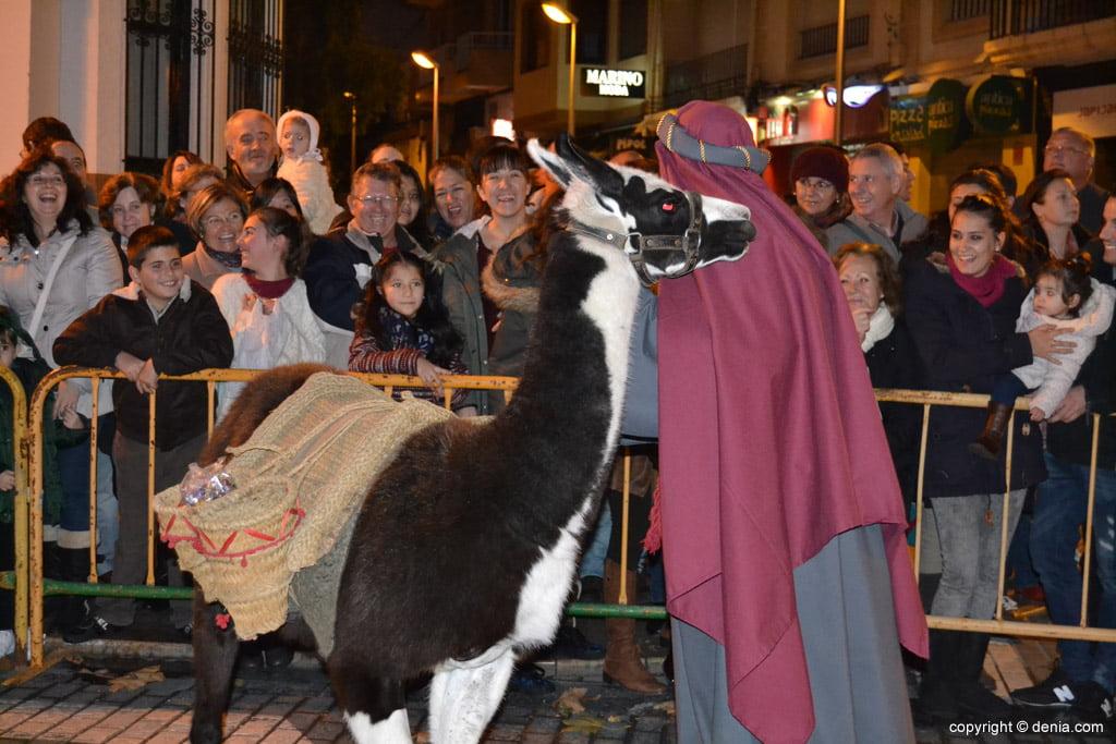 Cabalgata Reyes Magos 2015 – Llama