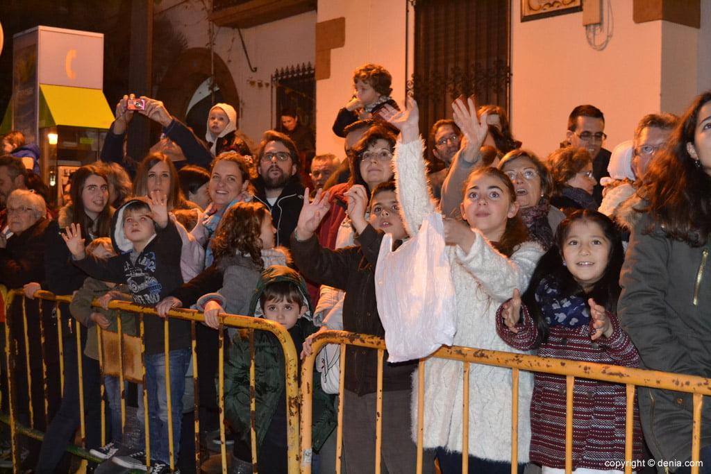 Cabalgata Reyes Magos 2015 – Público