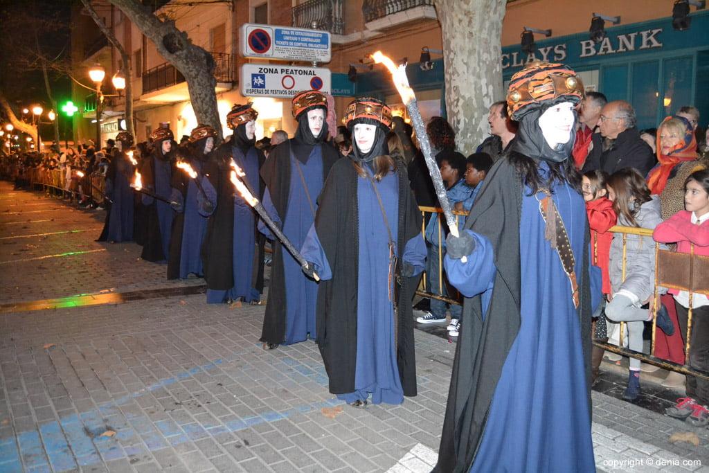 Cabalgata Reyes Magos 2015 – Antorcheros de Melchor