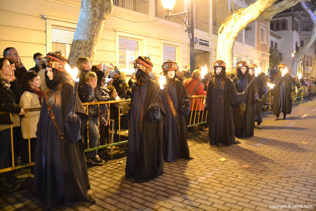 Cabalgata Reyes Magos 2015 – Antorcheros del Rey Melchor