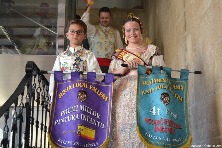 Falla Oeste - 4º Premio de las fallas infantiles de Categoría Especial