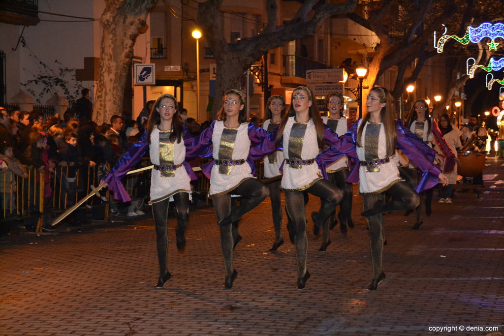 Cabalgata Reyes Magos 2015 – Ballet Babylon