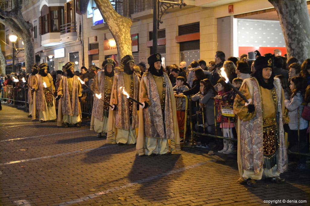 Cabalgata Reyes Magos 2015 – Antorcheros de Gaspar