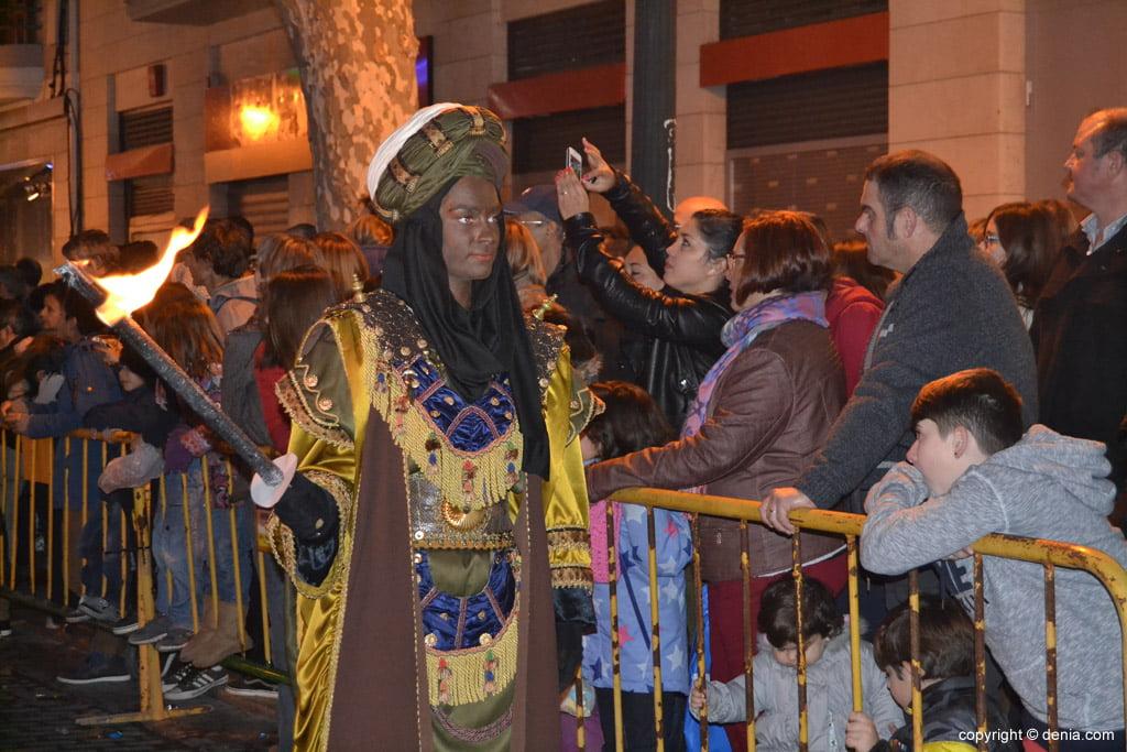 Cabalgata Reyes Magos 2015 – Antorcheros de Baltasar
