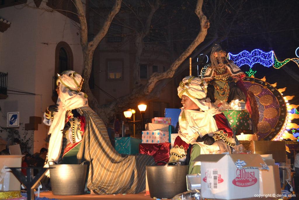 Cabalgata Reyes Magos 2015 – Carroza de Baltasar