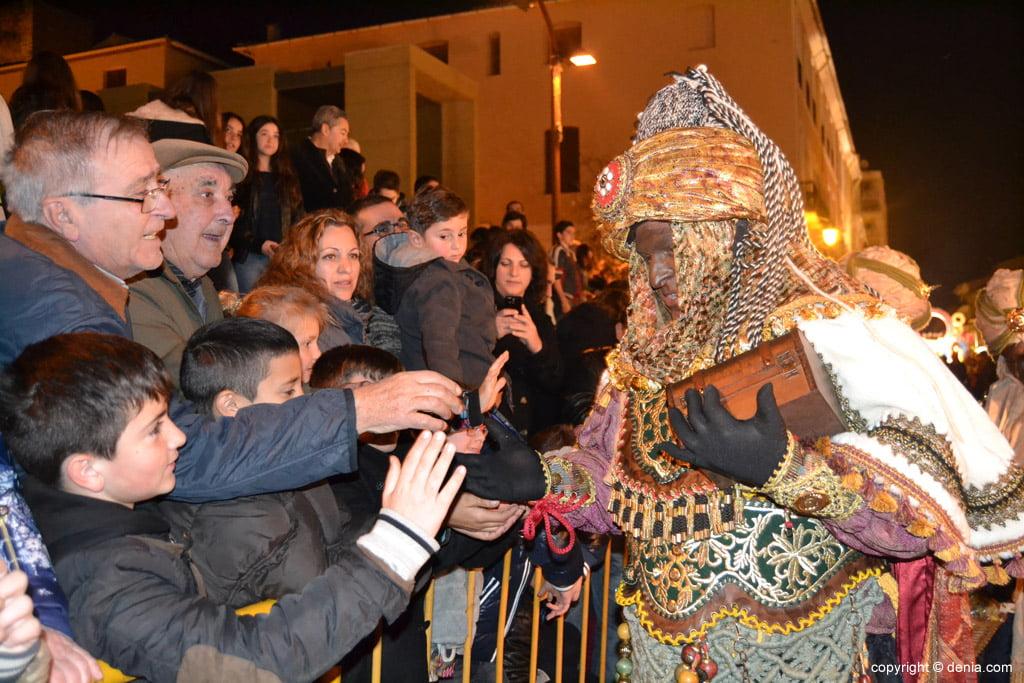 Cabalgata Reyes Magos 2015 – Rey Baltasar