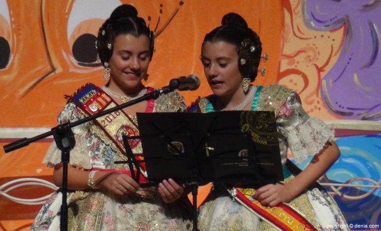 Presentación infantil Oeste 2016 - María y Nuria