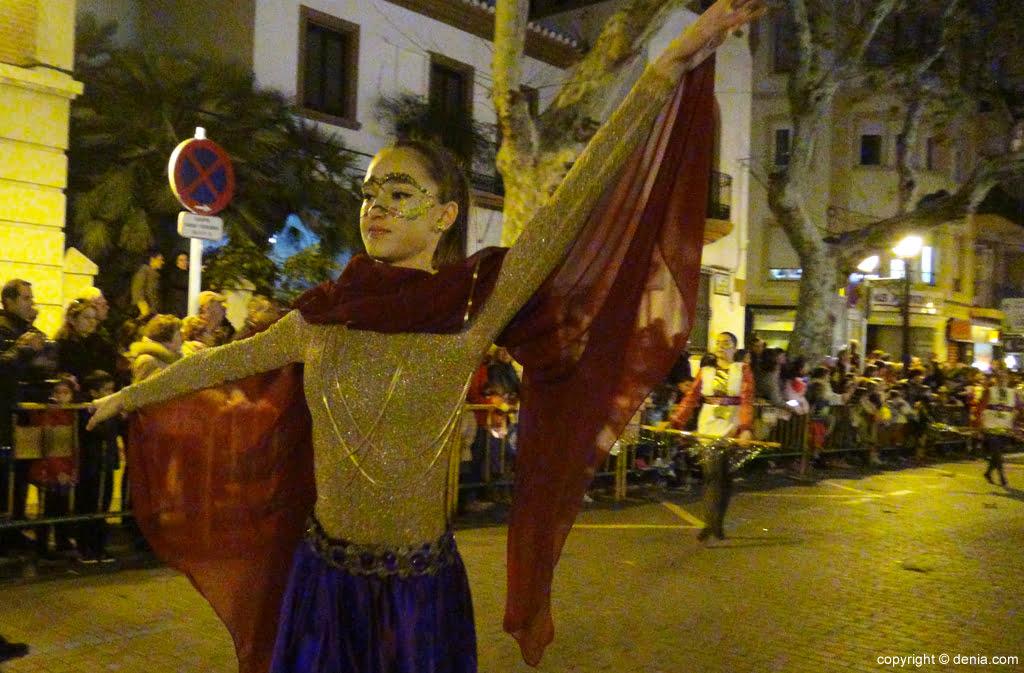 Cabalgata Dénia 2016 – Ballet Babylon