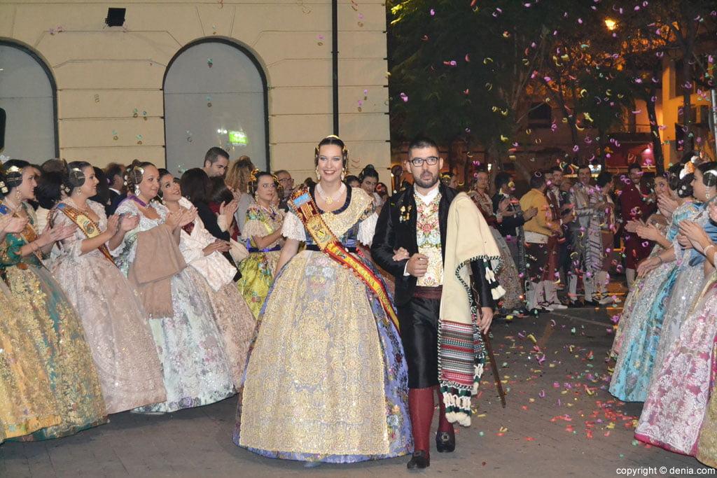 Càrrecs Baix la Mar 2015 - Laura Oltra i Juan Cabrera
