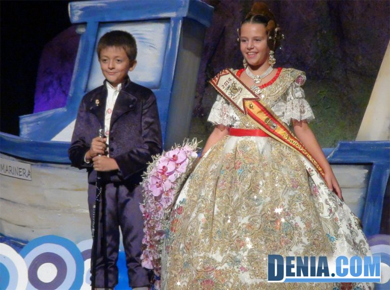 Cargos infantiles de Baix la Mar 2014 - Carla Cabrera y Oscar Comes