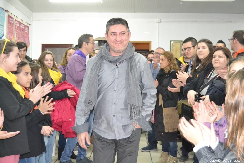 Enric Ginestar pregonero de las fallas de Dénia 2016
