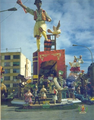 Falla Les Roques 1989