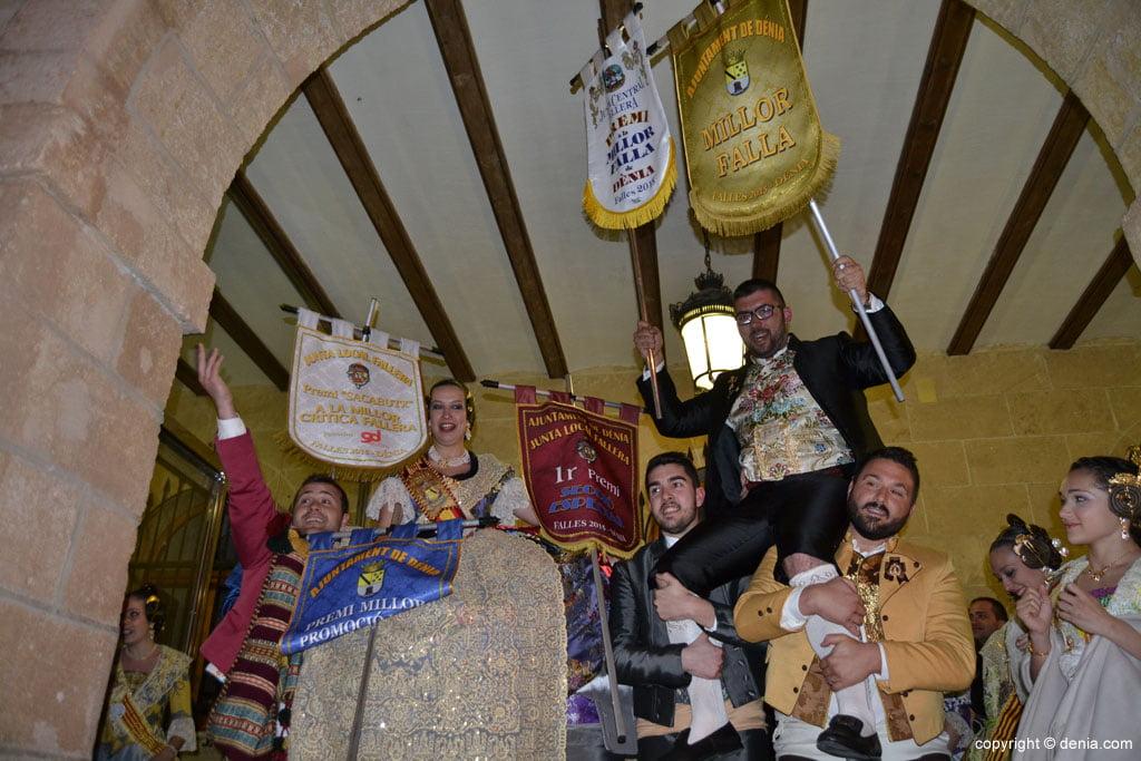 Falles Dénia 2015 - Primer premi falla Baix la Mar