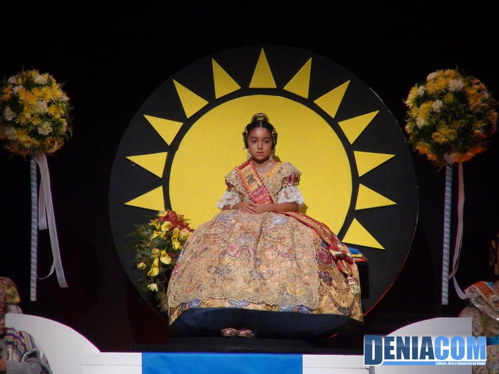 Fallera Major Infantil Baix la Mar 2012 - Astrid Pons