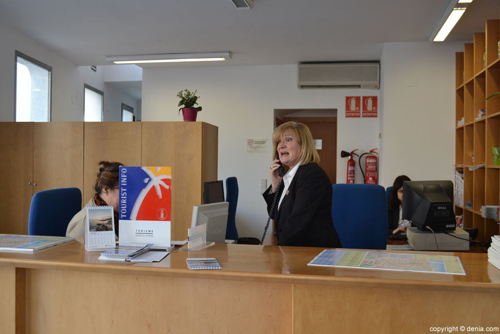 Fremdenverkehrsbüro von Dénia