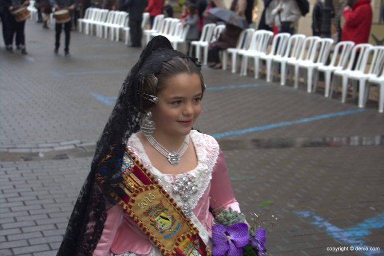 Ofrenda Flores Fallas Dénia 2015 - Falla Baix la Mar