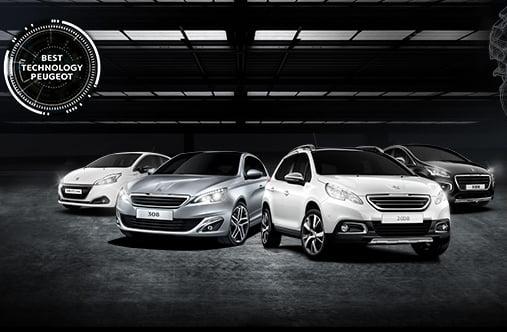 Peugeot vehículos