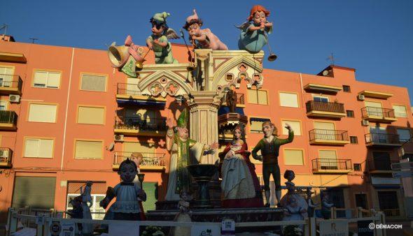 Imagen: Monumento de Baix la Mar de las Fallas 2019