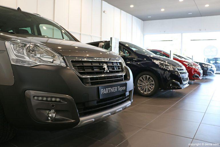 Peumovil vehículos Peugeot variedad