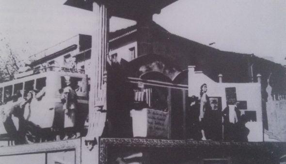 Image: Premier monument de la Falla Centro