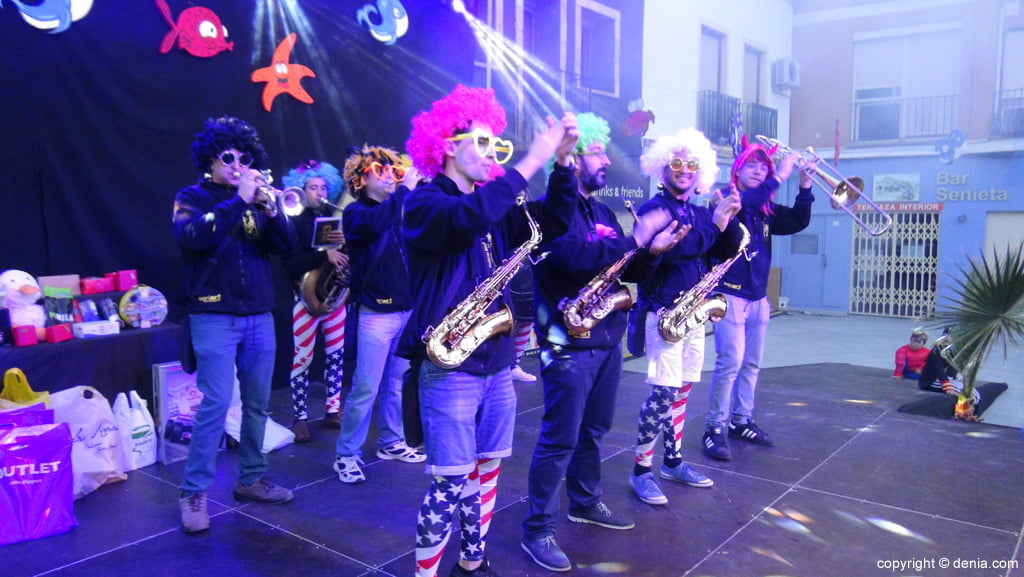 children's carnival Dénia 2016 - Cachorras Band