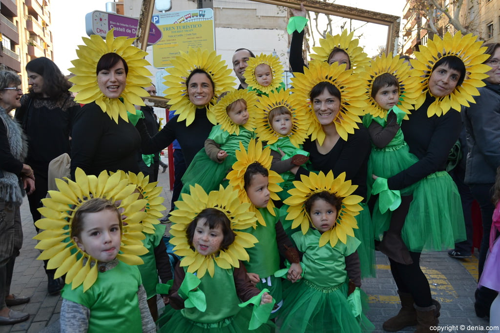 Dénia 2016 children's carnival - Participants