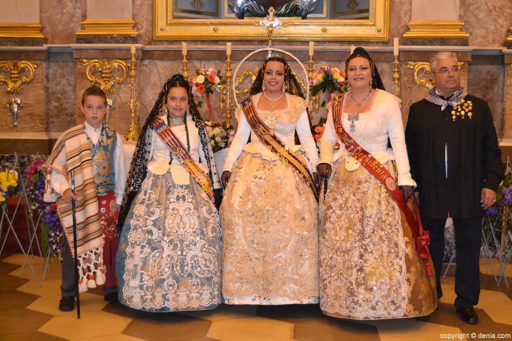 Ofrena de flors Falles de Dénia 2014 - Ofrena de la Falla Darrere del Castell
