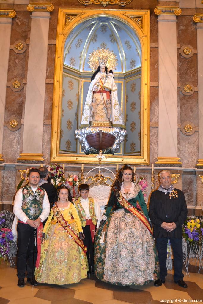 Ofrenda de flores Fallas de Dénia 2014 – Ofrenda de la Falla Saladar
